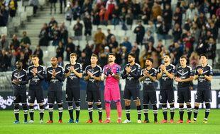 L'équipe des Girondins de Bordeaux version 2019/2020