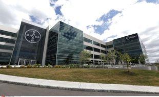 Le siège social des laboratoires Bayer, producteurs des implants de stérilisation féminin Essure, à Whippany dans le New Jersey (Etats-Unis) le 29 février 2016.