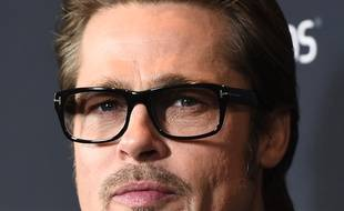 Brad Pitt, le 15 décembre 2014.