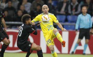 Le jeune Denis Will-Poha et le Stade Rennais ont subi la loi d'Astan en Ligue Europa.