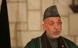 Hamid Karzai, le 14 décembre 2011 à Kaboul (Afghanistan).