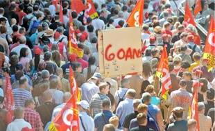 A Strasbourg, la mobilisation était deux fois plus élevée que lors de la dernière manif.