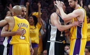 Jeudi 29 mai, les Lakers se qualifient pour la finale du championnat de NBA en battant les Spurs de Tony Parker.