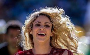 Shakira lors de la cérémonie de clôture de la Coupe du monde