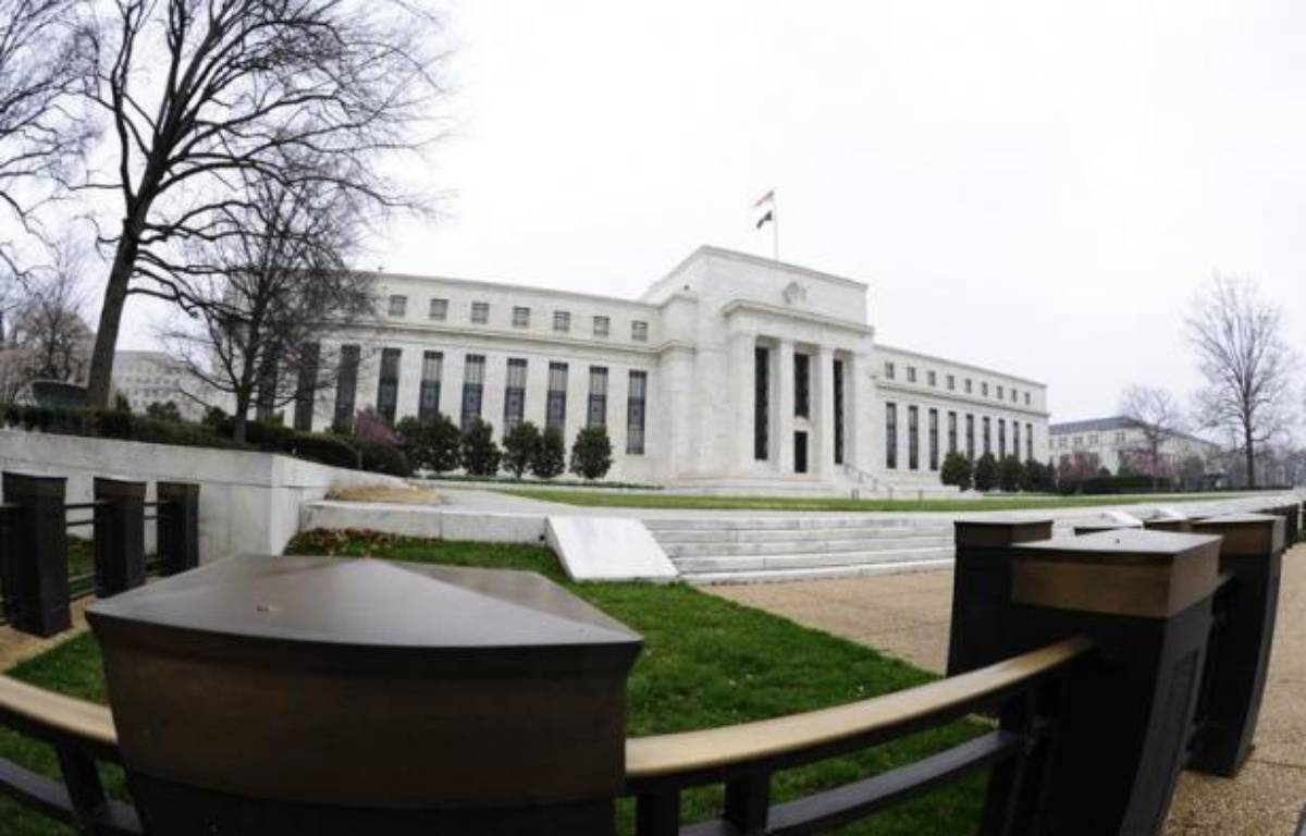 La banque centrale des Etats-Unis (Fed) a repris mercredi à Washington sa réunion de politique monétaire à l'issue de laquelle elle devrait confirmer son soutien à la reprise économique américaine, mais elle pourrait s'abstenir d'en faire plus comme le voudraient certains. – Karen Bleier afp.com