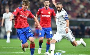 Benzema est resté muet contre le CSKA
