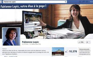 La page Facebook de Fabienne Lepic