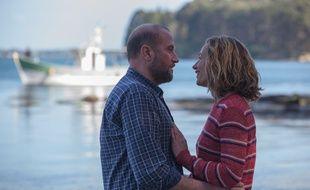 François Damiens et Cécile de France, dans le film Ôtez-moi d'un doute, tourné en Bretagne.