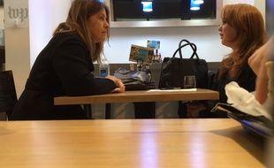 La journaliste du «Washington Post» Stephanie McCrummen face à la fausse informatrice Jaime Phillips.