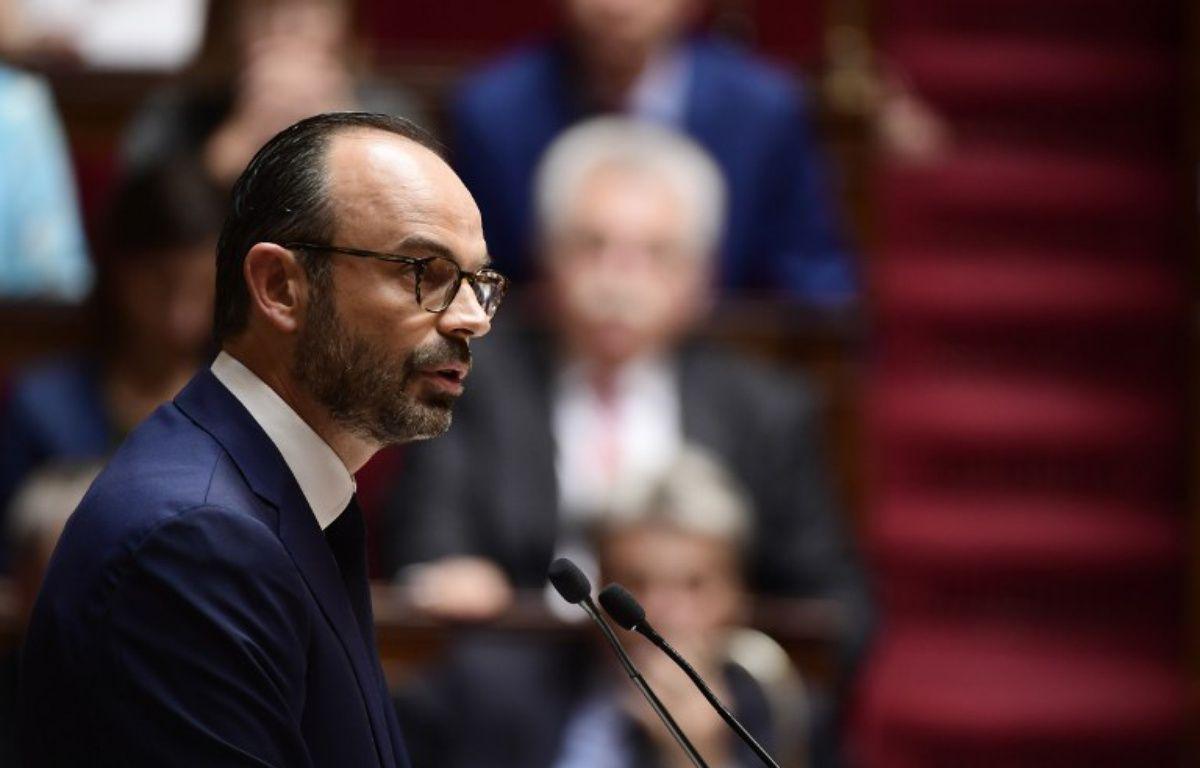 Edouard Philippe face à l'Assemblée nationale – MARTIN BUREAU / AFP
