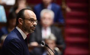 Edouard Philippe face à l'Assemblée nationale