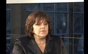Martine Malimbaum, l'avocate de Fabrice Sakoun. Capture d'écran Youtube.