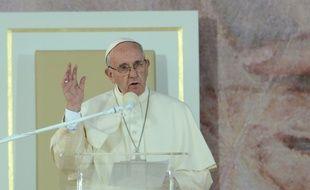 Le pape François à Cracovie le 29 juillet 2016