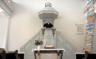 Une église protestante veut empêcher l'expulsion d'une famille arménienne, à La Haye, aux Pays-Bas (illustration).