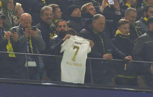 Kylian est dans toutes les têtes à Madrid