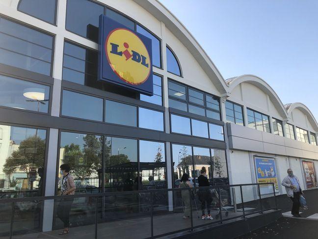 Le supermarché Lidl du boulevard Jules-Verne à Nantes