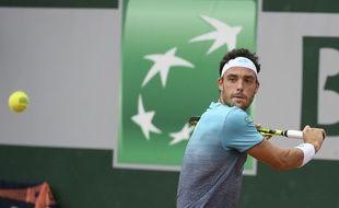 Marco Cecchinato est le vent de fraîcheur de ce tournoi.