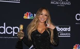La chanteuse Mariah Carey aux Billboard Music Awards