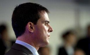 Le Premier ministre français Manuel Valls, le 4 octobre 2014 à Paris