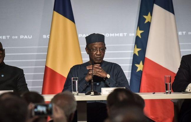 648x415 le president tchadien idriss deby lors du sommet sur le g5 sahel le 13 janvier 2020 a pau