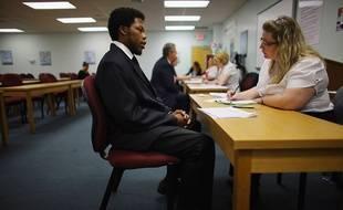Un entretien d'embauche en Floride (Etats-Unis) en 2012