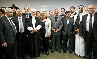 Imams et rabbins ont échangé lundi à l'Espace du judaïsme de Toulouse.