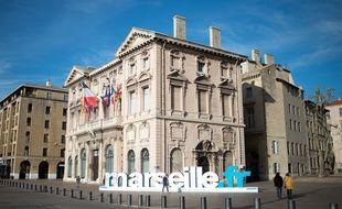 La mairie de Marseille en 2015