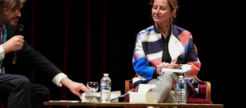 Ségolène Royal au Festival du Livre de Nice, le 1er juin 2019.