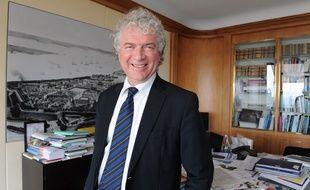 François Cuillandre est à la tête de la ville de Brest depuis 2001.