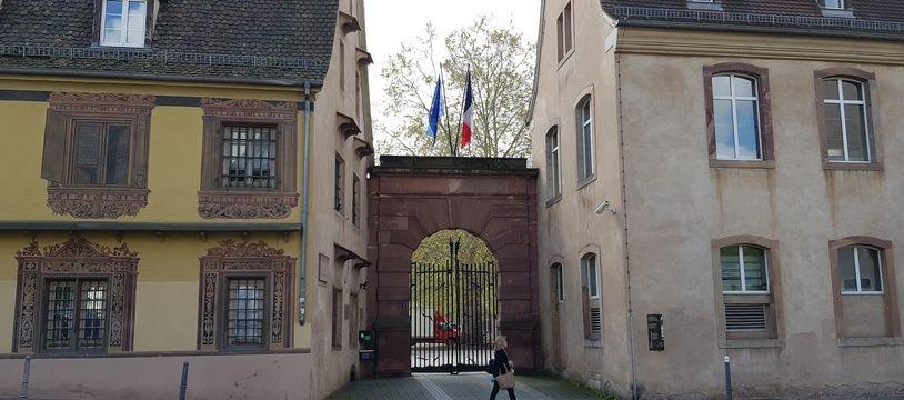 l'Ena à Strasbourg