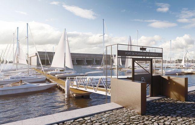 Le nouveau port de plaisance de Bordeaux sera équipé de passerelles, accessibles par un portail sécurisé