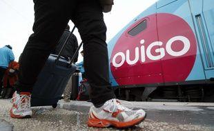 Un train Ouigo (Illustration)