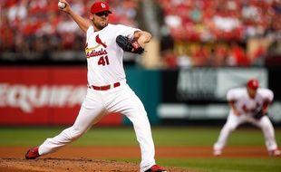 John Lackey, joueur des Saint Louis Cardinals, le 15 juin 2015.