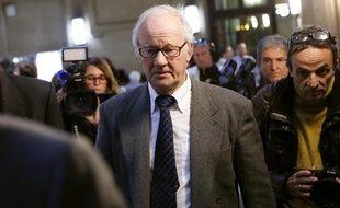 L'ex-ostéopathe Pierre Pallardy à la cour d'assises de Paris le 18 octobre 2013.