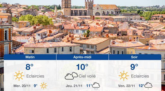 Météo Montpellier: Prévisions du mardi 19 novembre 2019 - 20minutes.fr