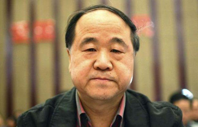 L'écrivain chinois Mo Yan, prix Nobel de littérature 2012.