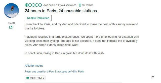 Commentaire touriste - Illustration.