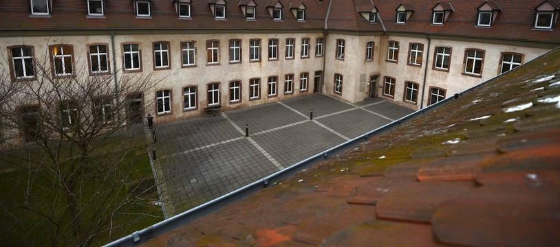L'Ecole Nationale d'Administration (ENA), le 14 janvier 2013 à Strasbourg.