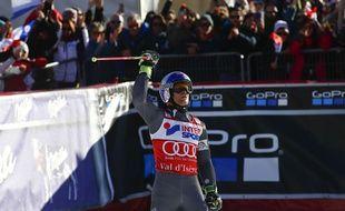 Alexis Pinturault, le 10 décembre 2016 à Val d'Isère.