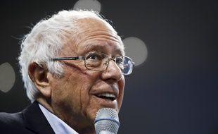 Le candidat à l'investiture démocrate Bernie Sanders, le 27 février 2020.