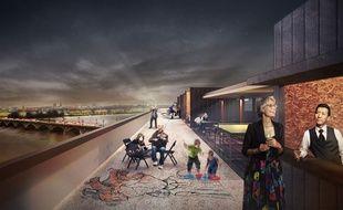 Le projet du collectif Qayin Archittetura pour la caserne fait la part belle aux artistes.