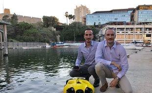 Benjamin Valtin, à gauche, et Nicolas Gambini, inventeurs d'Ibubble.