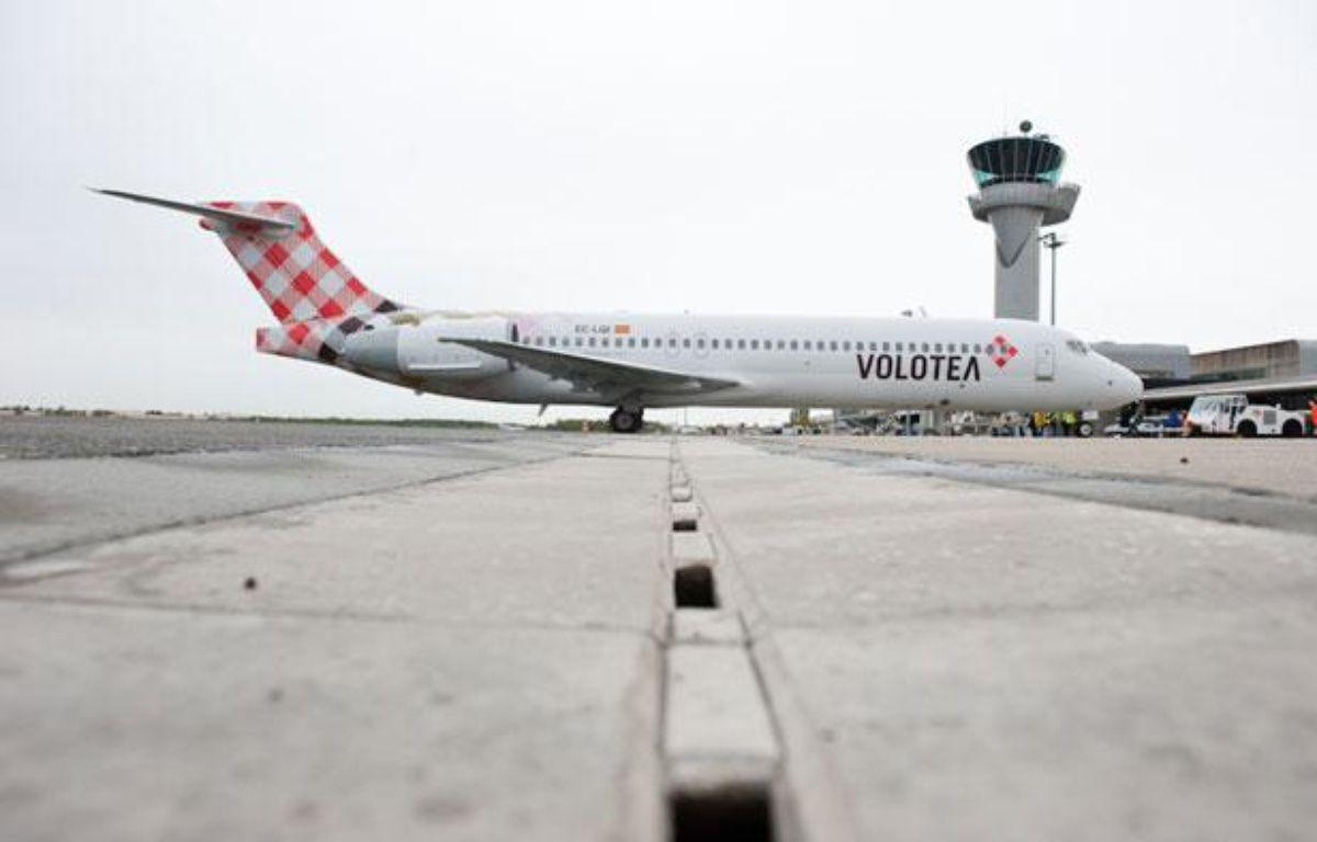 Le premier vol de Volotea en France s'est posé à Bordeaux le 25 avril. – S.ORTOLA/20MINUTES