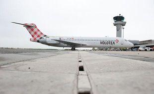Le premier vol de Volotea en France s'est posé à Bordeaux le 25 avril.