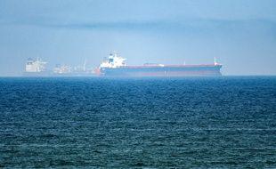 Des pétroliers dans le Golfe d'Oman, le 15 juin 2019.