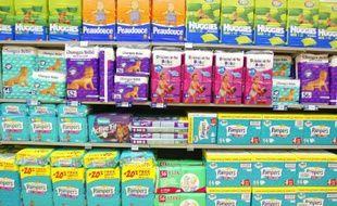 Des couches Pampers étaient en vente à -70% dans cet Intermarché de la banlieue messine. Illustration