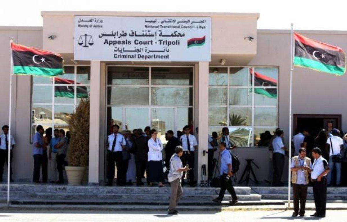 """Le Conseil national de transition (CNT) libyen a affirmé jeudi que la charia (loi islamique) était la """"principale source"""" de la législation et que cette question ne serait pas soumise à un référendum. – Mahmud Turkia afp.com"""