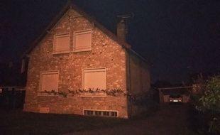 La maison de Guy Joao à Limay, perquisitionnée après son arrestation à Glasgow vendredi.