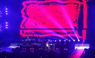 Concert du groupe Depeche Mode, le 24 janvier 2018 à Bordeaux métropole Arena.