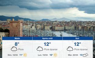 Météo Marseille: Prévisions du samedi 17 avril 2021